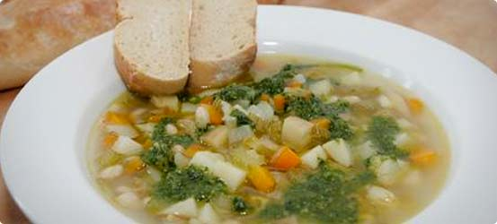 Country vegetable soup