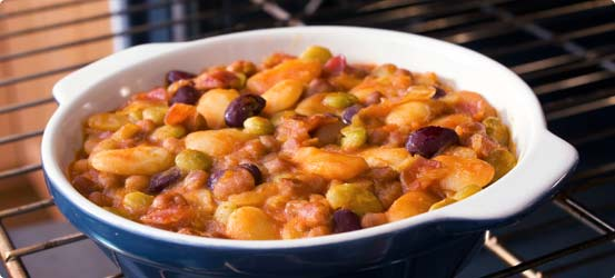 Pork and bean casserole