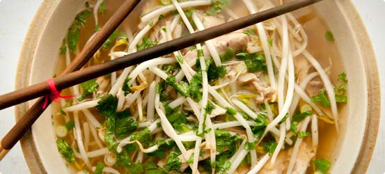 Ten minute chicken noodle supper
