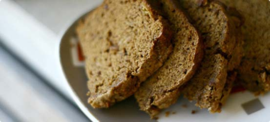Fruity banana bran cake